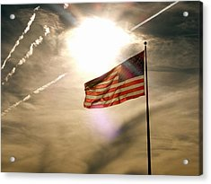 Acrylic Print featuring the photograph America by Paul Foutz