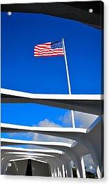 America Strong Acrylic Print