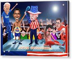 America Wins Acrylic Print