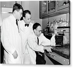 American Biomedical Researchers Acrylic Print by National Library Of Medicine