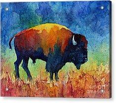 American Buffalo II Acrylic Print