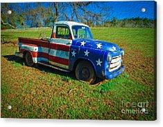American Classic Acrylic Print by Dan Julien
