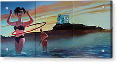 American Couple Number Two Acrylic Print by Geoff Greene