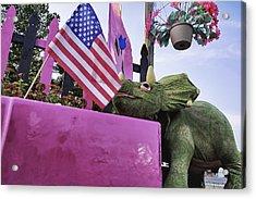 American Dino Acrylic Print by Jason Politte