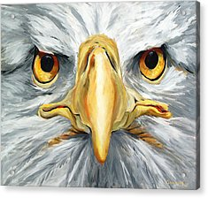 American Eagle - Bald Eagle By Betty Cummings Acrylic Print