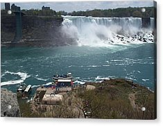 Acrylic Print featuring the photograph American Falls From Above The Maid by Barbara McDevitt