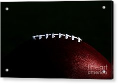 American Football Laces Acrylic Print