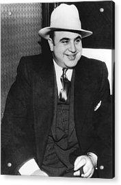 American Gangster Al Capone Acrylic Print