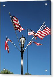American Glory Acrylic Print by James Hammen