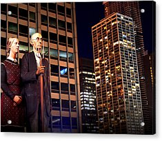 American Gothic In Chicago Acrylic Print