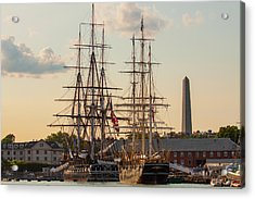 American History Acrylic Print by Brian MacLean