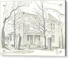 American Home II Acrylic Print