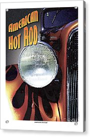 Acrylic Print featuring the photograph American Hot Rod  by Kenneth De Tore