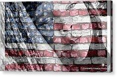 American Innocence Acrylic Print by Misty Herrick