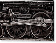 Acrylic Print featuring the photograph American Iron by Ken Smith