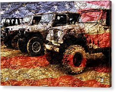 American Jeeps Acrylic Print