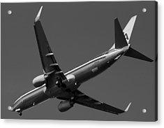 American Jet Landing Acrylic Print