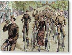 American League Cycles In Pennsylvania Acrylic Print