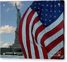 American Liberty Acrylic Print