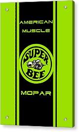 American Muscle - Mopar Acrylic Print