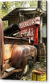American Pickers Acrylic Print by Peter Chilelli