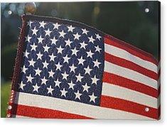American Pride Acrylic Print by Andrea Rea