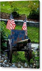 American Pride Acrylic Print by Timothy  Shea