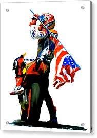 American Revolution Four Nicky Hayden Acrylic Print