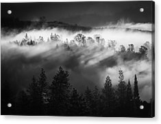 Acrylic Print featuring the photograph American River Canyon by Sherri Meyer