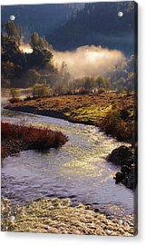 Acrylic Print featuring the photograph American River Confluence by Sherri Meyer
