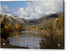 American River Acrylic Print