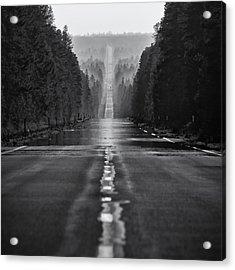 American Road Trip Acrylic Print by Alexis Birkill