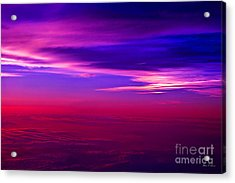 Acrylic Print featuring the photograph American Sky by Adam Olsen