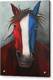 Spirit Acrylic Print by Leah Saulnier The Painting Maniac
