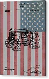American Tractor Acrylic Print