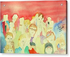 American Unity Acrylic Print