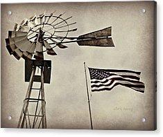 Americana Acrylic Print by Chris Berry