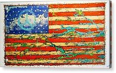 Americana Acrylic Print by Emil Bodourov