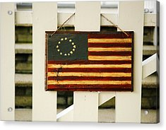 Acrylic Print featuring the photograph Americana by James Kirkikis