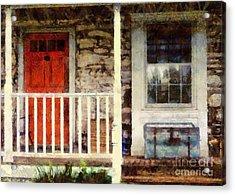 Americana Acrylic Print by Janine Riley