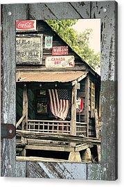 Americana Acrylic Print by Linda Olsen