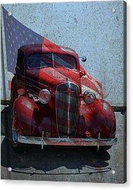 Americana Nbr 1 Acrylic Print