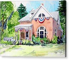 Americana Acrylic Print by Tom Riggs