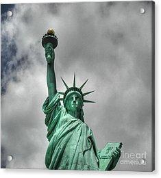 America's Lady Liberty Acrylic Print
