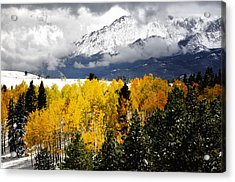 America's Mountain Fall Acrylic Print