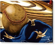 America's Pastime 3 Acrylic Print by Cory Still