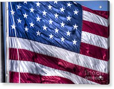 America's Stars And Strips Acrylic Print by D Wallace
