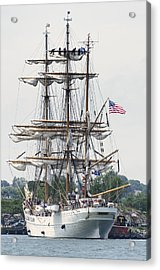 Americas Tall Ship The Eagle Acrylic Print by Marianne Campolongo