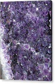 Amethyst Geode II Acrylic Print