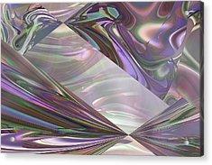 Amethyst Myst Acrylic Print
